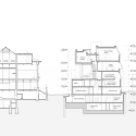 Seona Reid Building / Steven Holl Architects Section BB