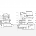 Seona Reid Building / Steven Holl Architects Section CC