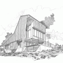 Round Mountain House  / deMx architecture Drawing