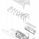 Round Mountain House  / deMx architecture Exploded Axonometric