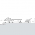 San Cayetano Mountain Residence / DesignBuild Collaborative Section N-S