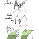 The Black Barn / Arhitektura d.o.o. Sketch