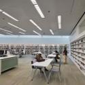 Glen Oaks Branch Library  / Marble Fairbanks © Eduard Hueber