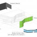 Glen Oaks Branch Library  / Marble Fairbanks Diagram 4