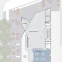 Glen Oaks Branch Library  / Marble Fairbanks First Floor Plan