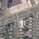 Glen Oaks Branch Library  / Marble Fairbanks Site Plan