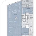 Glen Oaks Branch Library  / Marble Fairbanks Cellar Plan