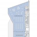 Glen Oaks Branch Library  / Marble Fairbanks Second Floor Plan
