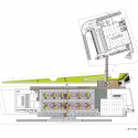 Taipei Flower Wholesale Market, Taiwan International Flower Trade Center Large site for cut flowers market. / H.P. Chueh Architects & Planners Floor Plan 2
