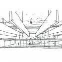 Campus Repsol / Rafael de La-Hoz Sketch