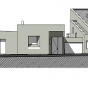 House in Chia  / Juan Pablo Ortiz North Elevation