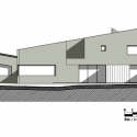 House in Chia  / Juan Pablo Ortiz West Elevation