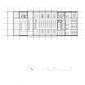 Film Theatre of Catalonia  / Mateo Arquitectura First Floor Plan