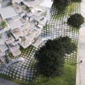 Sou Fujimoto-Led Team Designs Tree-Inspired Housing Tower for Montpellier © RSI-studio