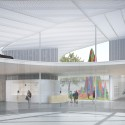 UC Davis Selects SO-IL to Design New Art Museum Updated Rendering. Image Courtesy of SO-IL