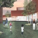 David Adjaye Designs Art and Culture Center for Colgate University © Adjaye Associates, Courtesy of Colgate University