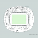 Mersin Stadium / Bahadir Kul Architects Ground Floor Plan