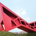 Bridging Teahouse / FR-EE / Fernando Romero Enterprise © Iwan Baan