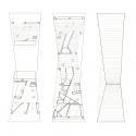 Bridging Teahouse / FR-EE / Fernando Romero Enterprise Floor Plans