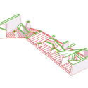 Bridging Teahouse / FR-EE / Fernando Romero Enterprise Diagram