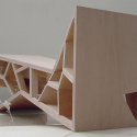 Bridging Teahouse / FR-EE / Fernando Romero Enterprise Model