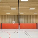 School Gymnasium in Neuves Maisons / Giovanni PACE architecte + abc-studio © Cyrille Lallement
