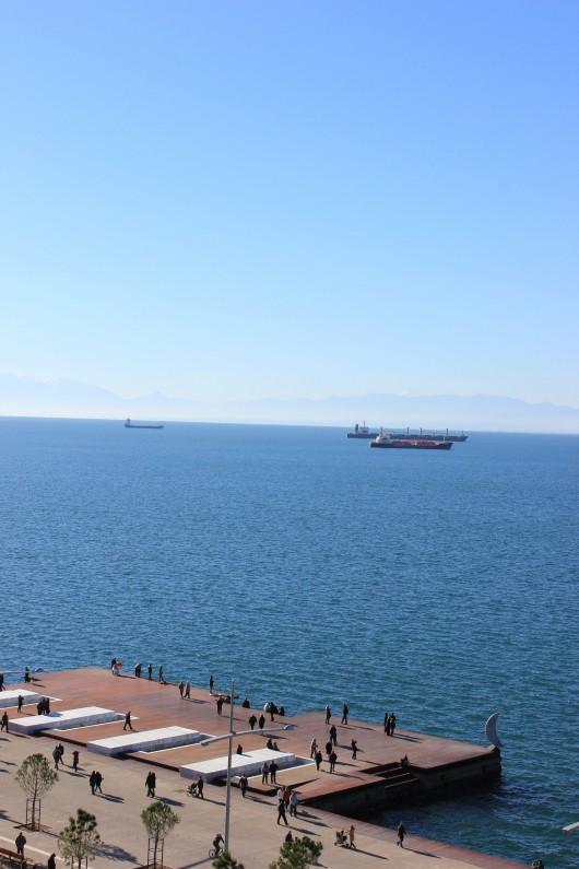 بارانداز جدید  شهر تسالونکی