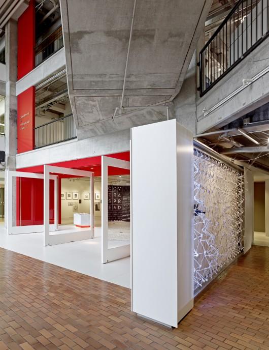 طراحی داخلی گالری،معماری داخلی گالری