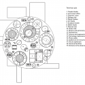 Palace of Schoolchildren  / Studio 44 Architects Third Floor Plan