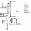 Palace of Schoolchildren  / Studio 44 Architects First Floor Plan
