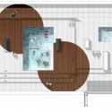 Triton Building / Saeta Estudi + Lluís Cantallops  + Juan Domingo Roof Plan