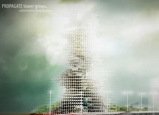 532c6a7cc07a803a0700003d evolo 2014 skyscraper competition winners 3 third place 530x384 Cùng nhìn qua 23 kiến trúc xanh của tương lai