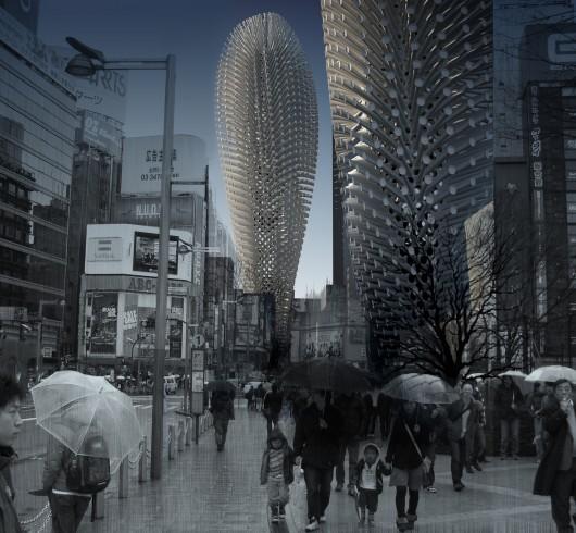 532c6b39c07a800de5000025 evolo 2014 skyscraper competition winners 12 mention 530x490 Cùng nhìn qua 23 kiến trúc xanh của tương lai
