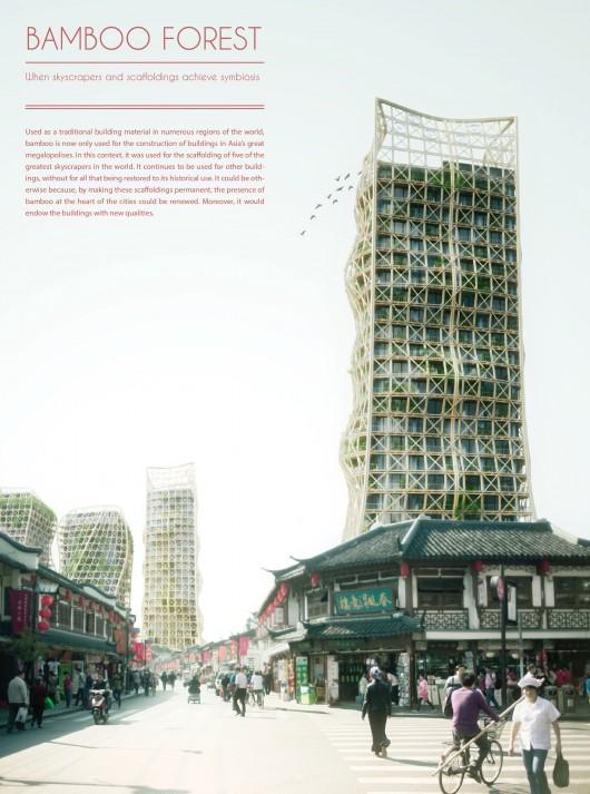 532c6b6ec07a809947000029 evolo 2014 skyscraper competition winners 10 mention 530x713 Cùng nhìn qua 23 kiến trúc xanh của tương lai