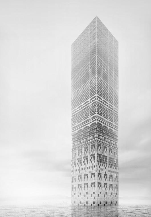 532c6b72c07a803a0700003f evolo 2014 skyscraper competition winners 9 mention 530x762 Cùng nhìn qua 23 kiến trúc xanh của tương lai