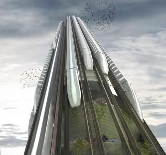 532c6b9dc07a80994700002b evolo 2014 skyscraper competition winners 7 mention 530x494 Cùng nhìn qua 23 kiến trúc xanh của tương lai