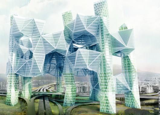 532c6c90c07a800de5000028 evolo 2014 skyscraper competition winners 16 mention 530x383 Cùng nhìn qua 23 kiến trúc xanh của tương lai