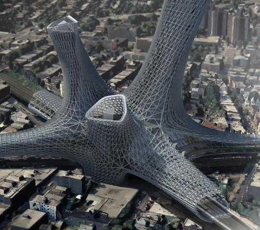 532c6c95c07a80994700002c evolo 2014 skyscraper competition winners 15 mention 530x469 Cùng nhìn qua 23 kiến trúc xanh của tương lai