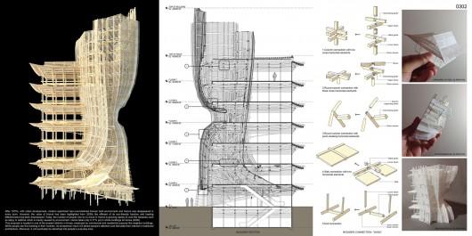 532c6dd7c07a80994700002e evolo 2014 skyscraper competition winners 1 evolo2014 firstplace 2 530x265 Cùng nhìn qua 23 kiến trúc xanh của tương lai