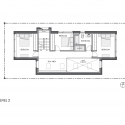 Park Passive House / NK Architects Floor Plan 2