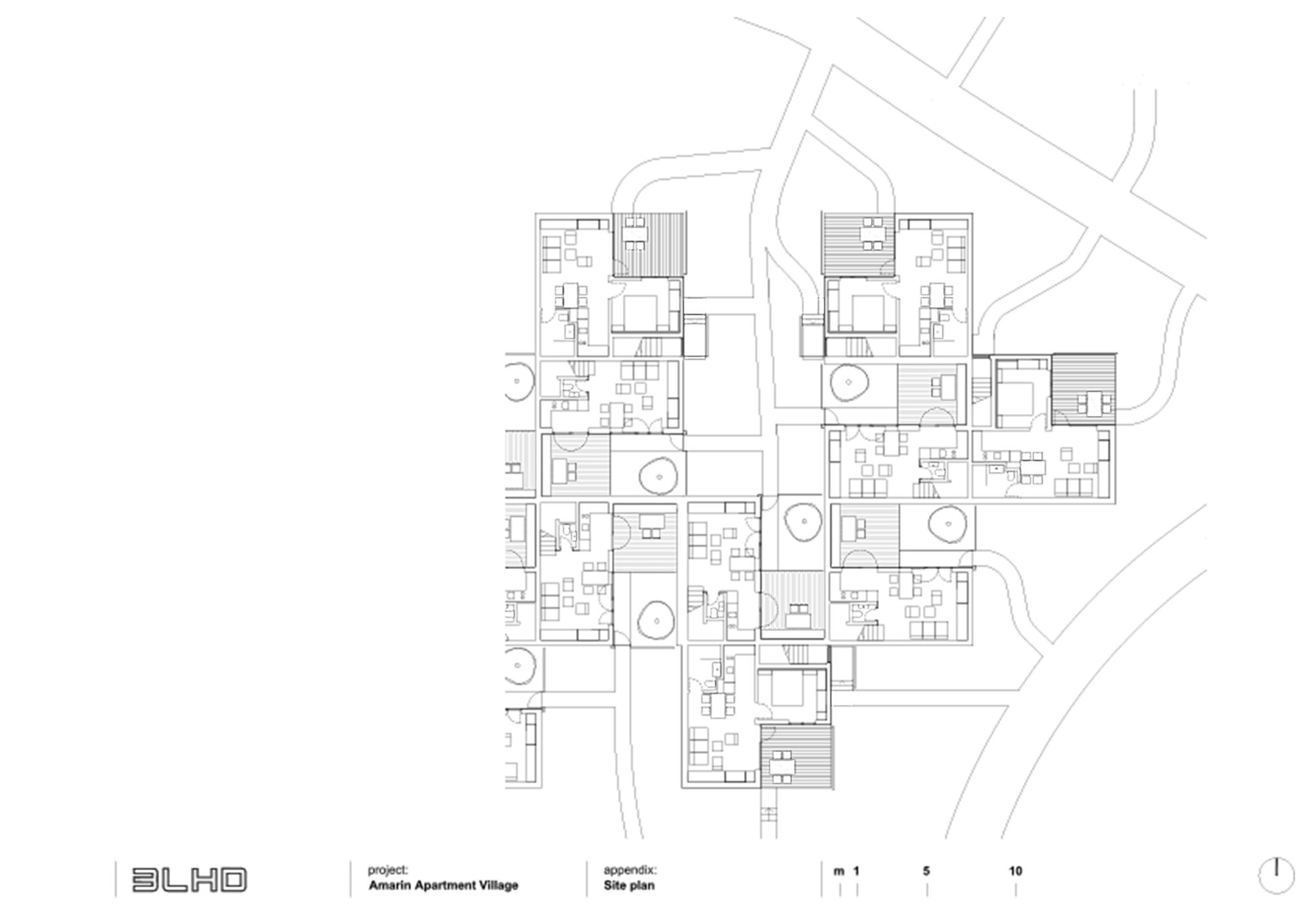 Master plan apartments and masters on pinterest for Apartment site plan