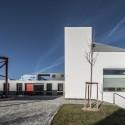 Palmovka Jihlava / Mjölk Architekti © Alexander Dobrovodský