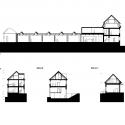 Palmovka Jihlava / Mjölk Architekti Sections