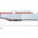 Stavanger Concert Hall / Ratio Arkitekter AS South Elevation