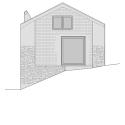 Savioz House Conversion / Savioz Fabrizzi Architectes East Elevation