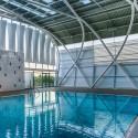 AISJ Aquatic Center / Flansburgh Architects © Stephen O'Raw
