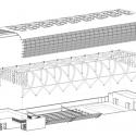AISJ Aquatic Center / Flansburgh Architects Materials Diagram