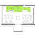 Vanke Orange City Sales Center / Sunlay Design Group Floor Plan