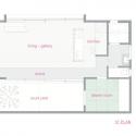 The Cave / Eto Kenta Atelier Architects First Floor Plan
