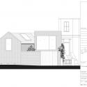 The Herringbone House / Atelier Chanchan Elevation